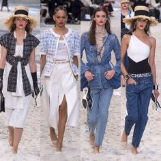 Chanel – Ready to Wear – Passarelando spring-summer 2019 Fashion Week 2018, Chanel, Street Styles, Cruise, Ready To Wear, Runway, Cover Up, Jumpsuit, Spring Summer