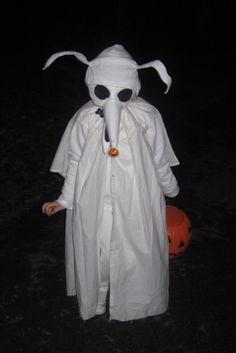 My homemade Zero costume & Zero costume/ nightmare before Christmas | HALLOWEEN!!! | Pinterest ...