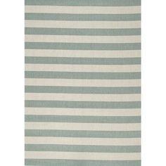 """Kalora Alpha Teal Nautical Area Rug Rug Size: 7'10"""" x 10'10"""""""