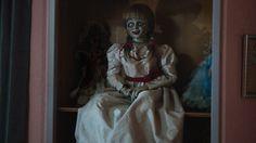 annabelle - najnowszy horror wszech czasów polecam. dobrze się czasem pobać :)