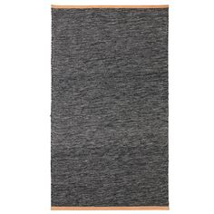 Björk rug, dark grey