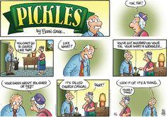 Pickles Comic Strip, August 16, 2015 on GoComics.com