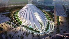 santiago calatrava's UAE pavilion for dubai expo 2020 breaks ground Dubai Buildings, Dubai Houses, Dubai Architecture, Chinese Architecture, Modern Architecture House, Architecture Design, Office Buildings, Modern Houses, Santiago Calatrava