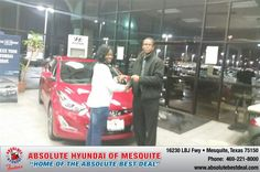 I do recognize when a person is sent from God. This car dealer had work out a deal that god had planted for my family.Kevin work out a deal that no car dealer could work out. I went to two pre-owned dealer and they had told me NO!!  Im telling you at hyundai they believe in making the custmer #1.  - Trinisha HARRIS, Monday, March 09, 2015 http://www.hyundaiofdallas.com/?utm_source=FlickR&utm_medium=DMaxx&utm_campaign=DeliveryMaxx