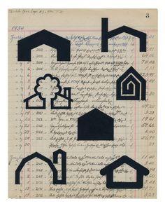 Peter Atkins 'obsolete house logos 3 c1970s'