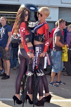 @Ingrid Taylor Taylor van den Eede Girls Promotions with Halsall Racing at Donington Park BSB - 9th September 2012