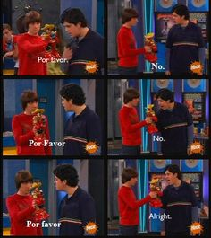 Drake and Josh. One of my favorite quotes XD
