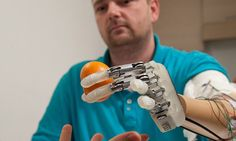 Man gets bionic hand with sense of touch nine years after accident