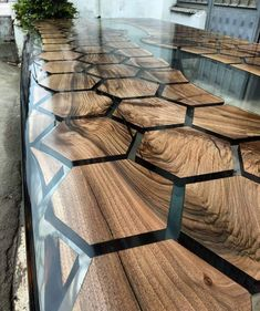 32 Awesome Resin Wood Table Design - For several reasons, resin furniture has become a popular alternative to wooden furniture created for outdoor use. It looks similar to painted wood, b. Into The Woods, Resin Furniture, Furniture Design, Furniture Dolly, Wood Resin Table, Slab Table, Wood Table Design, Walnut Table, Diy Wood Projects