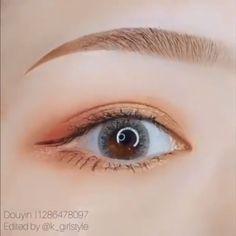 Permanent Eyeliner Augen Make-up – permanent makeup Makeup Korean Style, Korean Makeup Tips, Asian Eye Makeup, Korean Makeup Tutorials, Natural Eye Makeup, Natural Eyeliner, Asian Eyeshadow, Korean Beauty Tips, Simple Eyeliner