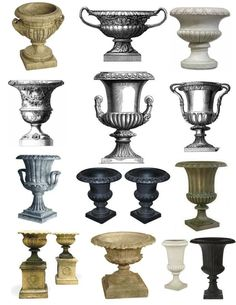 The Garden Urn. Classic, decorative and time honored. A refined statement. Whether gracing the garden, positioned at the entrance of an exterior or even within the interior, urns are bold and extra...