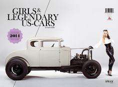 Swaybooks Girls & legendary US Cars 2014