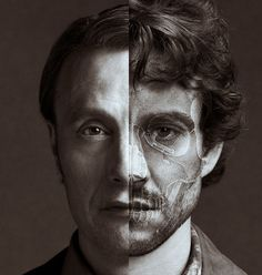 """Mads Mikkelsen and Hugh Dancy as Dr. Hannibal Lecter and Will Graham in """"Hannibal."""" OBSESSED."""