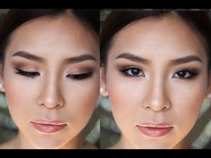 Makeup Tutorial: Enhancing Small/Asian Eyes - YouTube