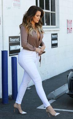 October 22, 2014-Khloe Kardashian leaving Bunim/Murray Productions Studio in Van Nuys.