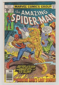 Amazing Spider-Man V1 173 Comic Book. October by RubbersuitStudios #spiderman #comicbooks