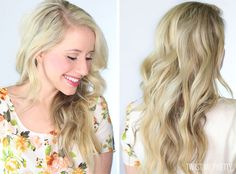 Such an easy guide to follow for those effortlessly looking curls