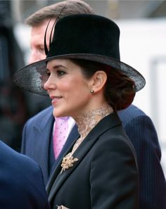 Danish Royal Family at the Opening of Parliament in Copenhagen.