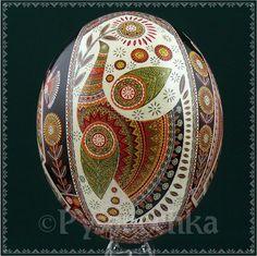 Real Ukrainian Pysanka. Ostrich Pysanky Best by Halyna. Easter Egg Osterei | eBay