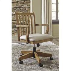 H65901A In By Ashley Furniture In Longview, TX   Home Office Swivel Desk  Chair