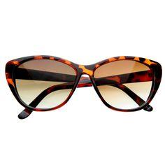 Vintage Inspired Cat Eye Sunglasses