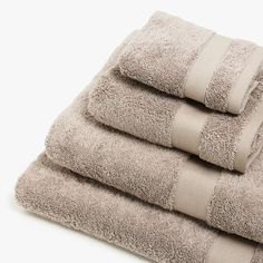 Zara Home España, Cotton Towels, The Unit, United Kingdom, Image, Towels, Accessories, England
