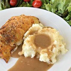 Roast Chicken Pan Gravy - Allrecipes.com