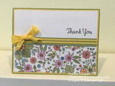 Stampin' Up! GDP070 Thank You