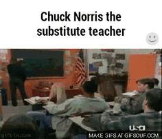 Chuck Norris as a Teacher