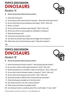 Dinosaurs, English, Learning English, Vocabulary, ESL, English Phrases, http://www.allthingstopics.com/dinosaurs.html