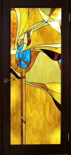 Stained glass as partition
