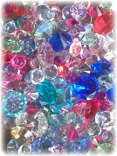 Geniune Crystals For Floating Lockets