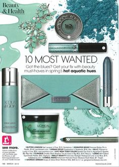 Teen Vogue, March 2013 | Fiver Nail Lacquer