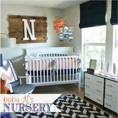 wood art, wall art, nursery design, wood letters, wood signs, baby boys, boy nurseries, wood pallets, wood walls