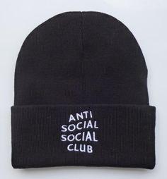 Men's / Women's Unisex Anti Social Social Club Classic Signature Logo Embroidery…