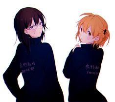 Tags: Pixiv, Haikyuu!!, Shimizu Kiyoko, Kaya (Pixiv4673458), Hitoka Yachi