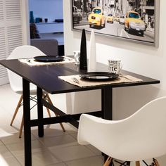 Tokyo Drop Leaf Rectangle Dining Table | Overstock.com Shopping - Great Deals on Matrix Dining Tables