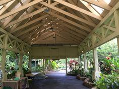 Hale Hoike at the Waimea Valley is a wedding venue options. www.hawaiianweddings.net Hawaii Weddings by Tori Rogers