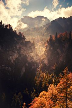 I feel like this might be in Middle Earth, and that there is a fellowship on that bridge...