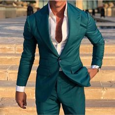 Mens suits colour combinations fashion, suit combinations, different co Men's Fashion, Mens Fashion Suits, Mens Suits, Fashion Sites, Cheap Fashion, Fashion Boots, Mens Suit Colors, Blue Suit Men, Best Suits For Men