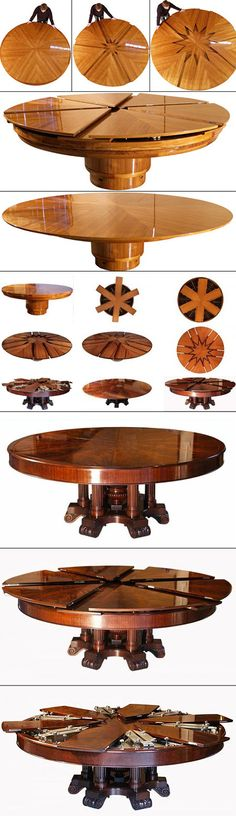 This da Vinci-like table table is based on a design patented in 1835. Just…