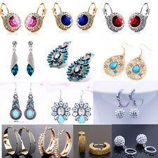 Dangle Women  Stud  Crystal Elegant Fashion 1 Pair  Rhinestone Earrings