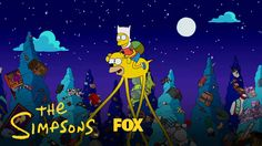 Adventure time Simpsons couch gag https://youtu.be/E8gDvbsYd0Q