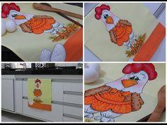 Pintura em tecido - Galinha FIFI - parte 2 - YouTube
