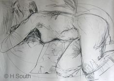 Figure Drawing With Line and Contour Drawing Lessons, Life Drawing, Drawing Techniques, Drawing Tips, Figure Drawing, Drawing Reference, Hand Reference, Drawing Faces, Pose Reference