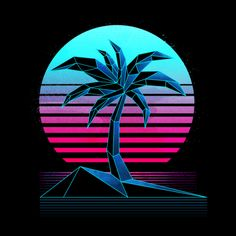 Browse all designs on Signalnoise – available on a range of custom products Nhl All Star Game, Vaporwave Art, Custom Muscle Cars, James White, Cool Stickers, Woody, Overlays, Paradise, Neon