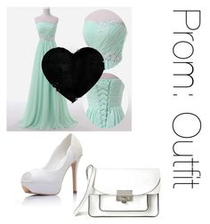 """""""Prom - No.1"""" by aribebop ❤ liked on Polyvore featuring Marc by Marc Jacobs"""