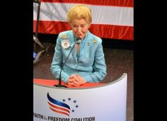 EAGLE FORUM founder, Phyllis Schlafly