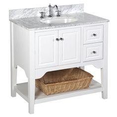 "Washington 36"" Single Bathroom Vanity Set"