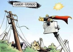 Linemen Are Super Heroes